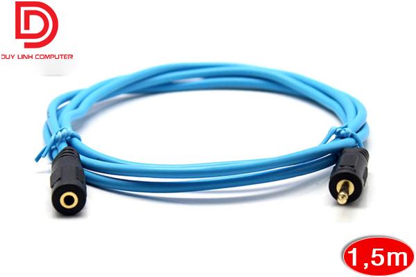 Dây nối dài loa 3.5mm dài 1.5M chính hãng Dtech DT-6215