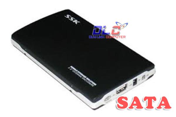HDD Box 2.5 SSK SHE037 SATA chính hãng