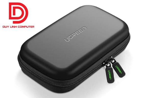 Hộp đựng đa năng ổ cứng gắn ngoài 2,5 inch, các phụ kiện dây cáp sạc Ugreen 50274 chính hãng