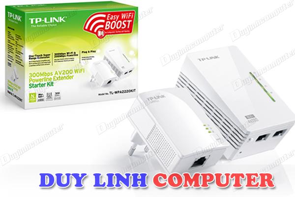 Tp-Link WPA2220KIT - Mở rộng Internet qua đường dây điện AV200 - 300Mbps