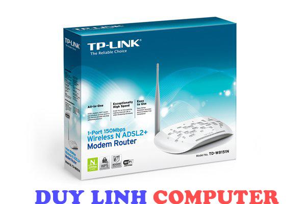 Router không dây ADSL2 TP-LINK TD-W8151N