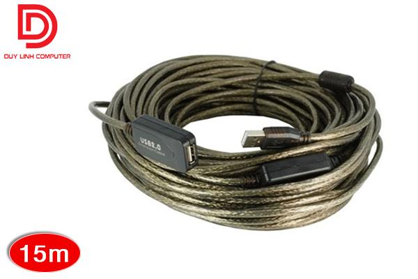 Nối dài USB 15M có khuyếch đại và chống nhiễu