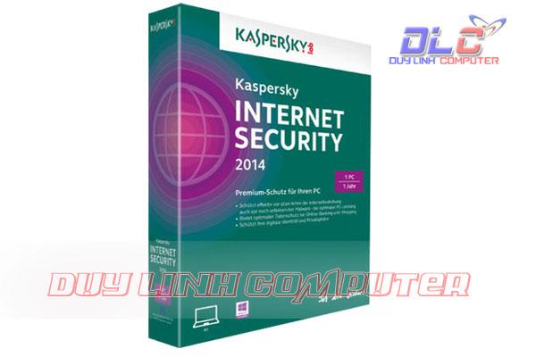 Phần mềm virus Kaspersky Internet 1 PC 2015