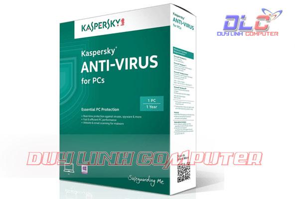 Phần mềm virus Kaspersky Antivirus 1 PC 2015