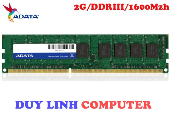 RAM ADATA 2GB DDR3/1600Mhz