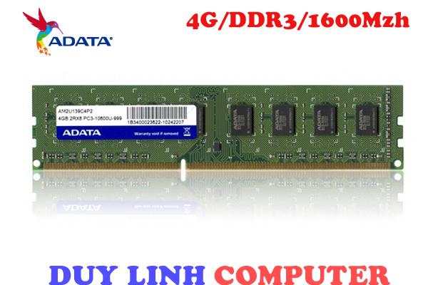 RAM ADATA 4GB/DDR3/1600Mhz