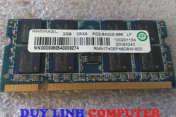Ram Laptop RAMAXEL 2GB/DDR2/800mhz