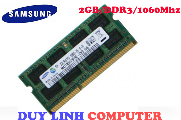 Ram Laptop SAMSUNG 2GB/DDR3/1060mhz