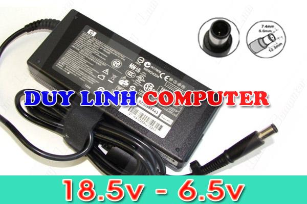 Sạc Adapter Laptop HP 18.5V - 6.5A chân Kim (Hàng chính hãng)