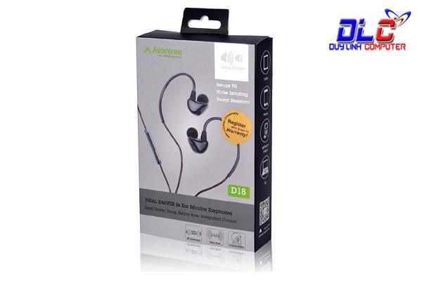 Tai nghe thể thao Avantree Dual Driver ADHF-D18-BRW cao cấp
