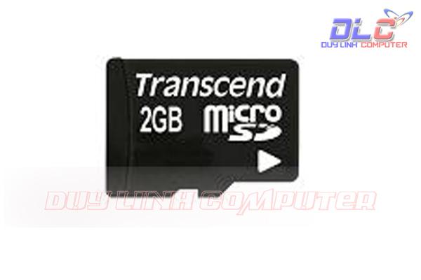 Thẻ Nhớ MicroSD 2GB Transcend