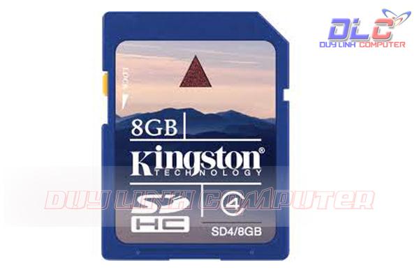 Thẻ nhớ SD 8gb Kingston