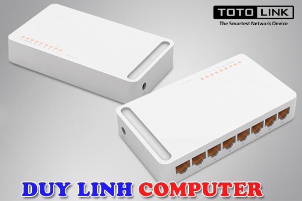 Thiết bị chia mạng Totolink S808 8 cổng 10/100Mbps