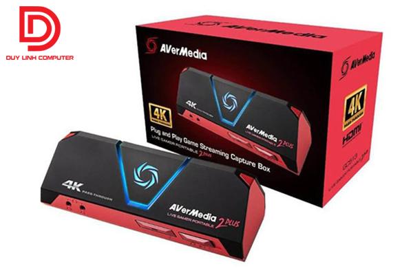 Thiết Bị Ghi Hình 4K Live Gamer Portable 2 Plus Avermedia GC513 chính hãng