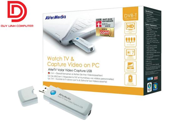 Thiết bị ghi hình AverTV Hybrid Volar HD Avermedia H830 chính hãng