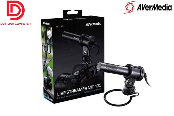 Thiết bị ghi hình Micro Live Streamer AverMedia AM133 chính hãng