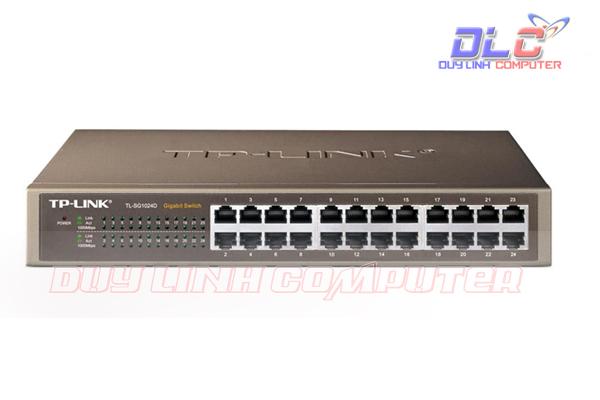 Bộ chia mạng Switch 24 cổng chính hãng TP Link TL-SF1024D
