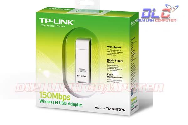 Bộ thu sóng Wifi TP-LINK TL-WN727N - 150Mbps