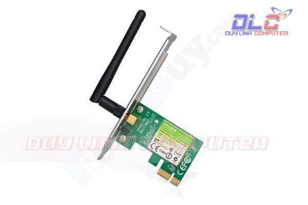 Bộ thu sóng Wifi TP-LINK TL-WN781ND Cắm chân PCI E - 150Mbps