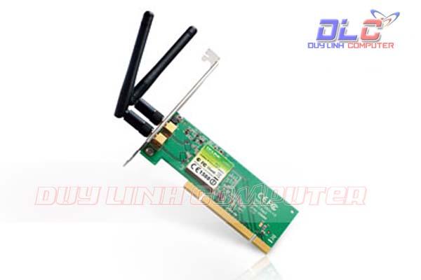 Thiết bị thu sóng Wifi TP-Link TL-WN851ND, chân cắm PCI - 300Mbps