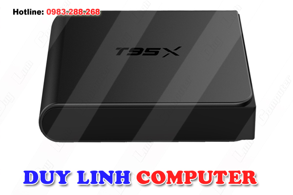 TV BOX ANDROID T95X CHIP S905X RAM 2GB, ANDROID 6.0