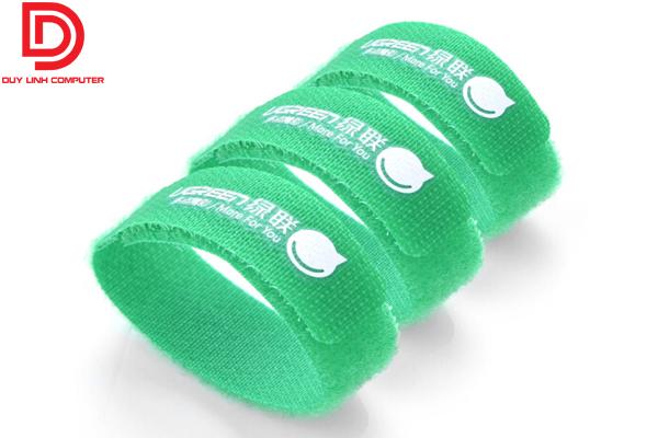 Ugreen 20314 - Dây dán Velcro quấn gọn (1 túi-3 chiếc) dài 17cm