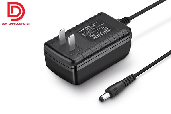 Ugreen 20359 - Adapter 12V-2A màu đen chính hãng