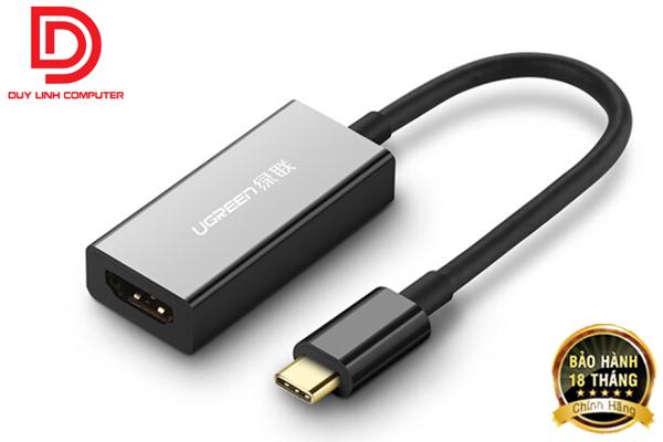 Ugreen 50249 - Cáp USB Type C to HDMI hỗ trợ 4K2K cao cấp