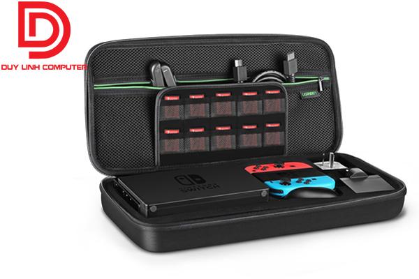 Ugreen 50276 - Túi chống sốc cầm tay bảo vệ ổ cứng, bộ điều khiển Nintendo Switch, dây cáp sạc