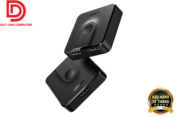 Ugreen 50966 - Bộ gộp-chia HDMI 2 chiều hỗ trợ 4K2K@30Hz