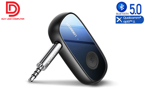 Ugreen 70304 - Bộ thu bluetooth 5.0 sử dụng trên ô tô, loa chính hãng hỗ trợ APTX