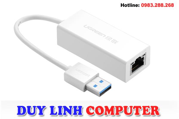 USB 3.0 to Lan Ugreen 20255 Gigabit 10/100/1000Mbps-ABS