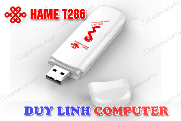 USB 3G Hame T286 HSPA tốc độ 21.6 Mbps chính hãng ,băng thông rộng