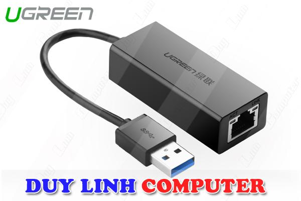 USB to LAN 3.0 chính hãng Ugreen UG-20256 tốc độ 10/100/1000Mbps