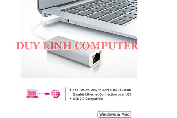 USB Lan cho Macbook Pro Macbook Air