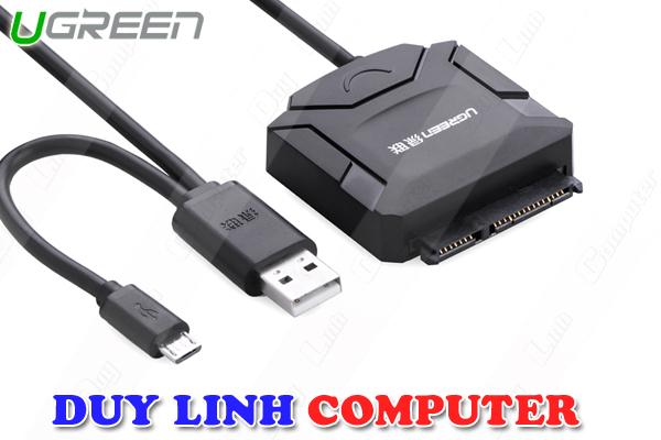USB to Sata 2.0 tích hợp OTG cao cấp Ugreen 20216 chính hãng
