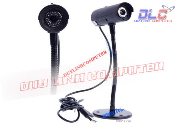 Webcam cao ống đen