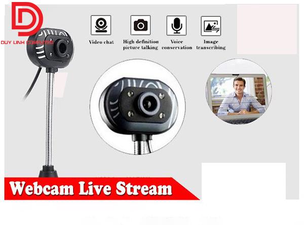 Webcam có mic hỗ trợ Live-Stream, học online giá rẻ