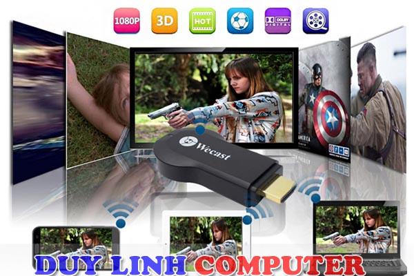 Wecast C2 Dongle kết nối HDMI không dây từ Mobile, Table, Laptop ra Tivi
