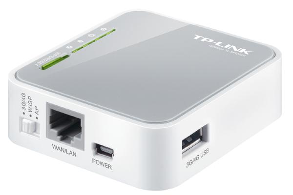 Bộ Thu - Phát Wifi 3G TP-LINK TL-MR3020